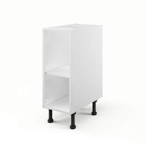 caisson de cuisine bas b30 delinia blanc l 30 x h 85 x p 56 cm leroy merlin