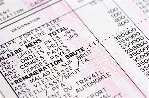 le calcul du salaire brut au net