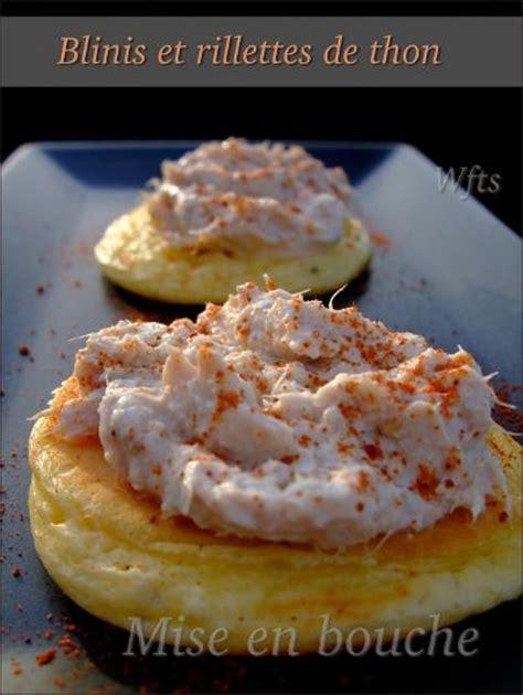 blinis moelleux au yaourt et mousse de thon paperblog