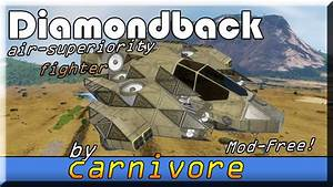 Diamondback Air Superiority Fighter - YouTube