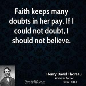 Henry David Thoreau Faith Quotes | QuoteHD