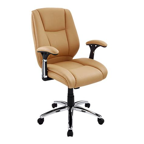 realspace eaton mid back bonded leather and 21 similar items