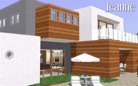 mod the sims jeanne une maison moderne