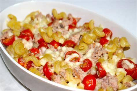 recette de gratin de p 226 tes au thon 224 la mozzarella dine move