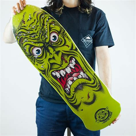 rob roskopp reissue deck green in stock at the boardr