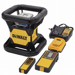 DeWalt Green Rotary Laser Level | Tools of the Trade ...