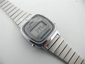 Retro Uhr Damen : casio la 670we 3191 damen armbanduhr watch wecker uhr vintage ~ Markanthonyermac.com Haus und Dekorationen