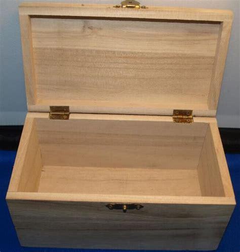 bois brut coffre bois 180 mm x 85 mm x 110 mm