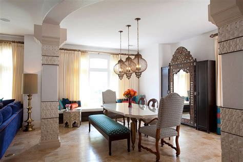 Give Your Dining Room A Moroccan Twist