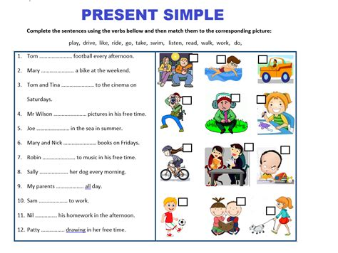 Present Simple Tense Worksheets Bundle  Save 75% By Mariapht  Teaching Resources Tes