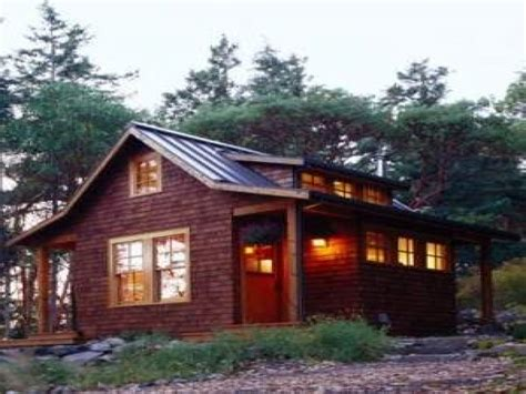 Small Cabin Plans Rustic Cabin Plans, small mountain