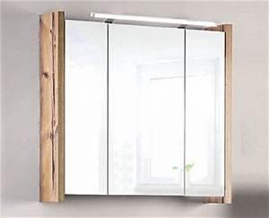 Spiegelschrank Badezimmer Holz : living style badezimmer spiegelschrank picea aktion bei ~ Markanthonyermac.com Haus und Dekorationen