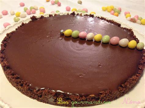 tarte au chocolat croustillante sans cuisson les gourmandises de n 233 mo