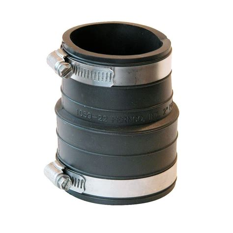 dresser couplings for pvc pipe 2 in plastic hub x 2 in pvc coupling p1059 22