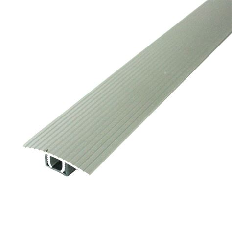 m d building products cinch 1 5 in x 36 in satin silver