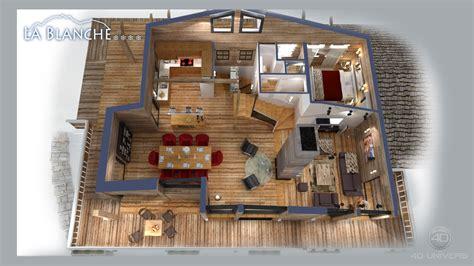 plan chalet contemporain maison moderne