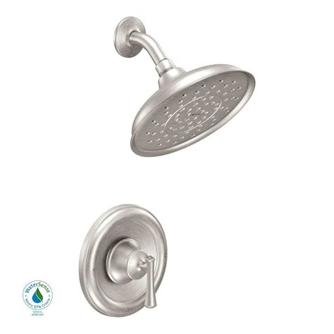 moen ashville single handle 1 spray shower faucet with
