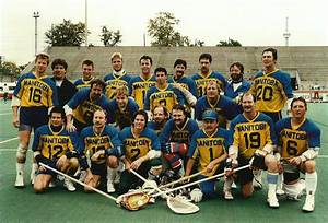 1985 Manitoba Senior Men's Field Lacrosse Team — Canadian ...