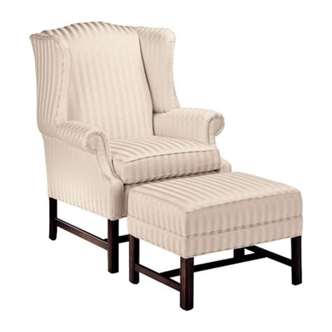 ethan allen milford wing chair living room of the
