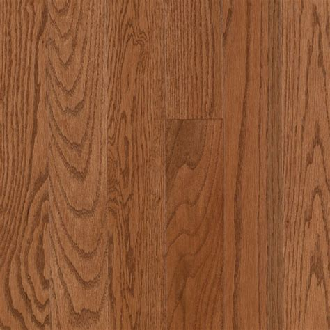 Gunstock Oak Wooden Flooring by Shop Allen Roth 2 25 In W Prefinished Oak Hardwood
