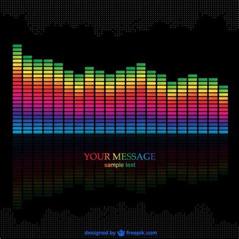 Muziek equalizer vector download  Download gratis Vector