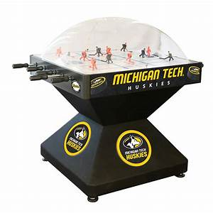 Michigan Tech Huskies Dome Bubble Hockey | eBay
