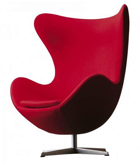 fauteuil oeuf design arne jacobsen pour fritz hansen la boutique danoise