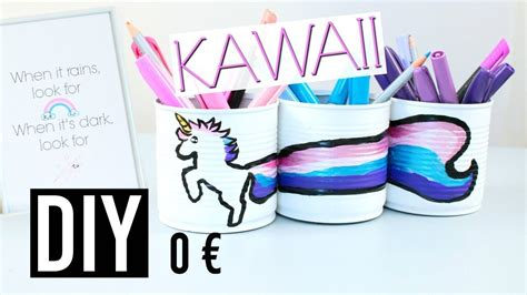 Diy Kawaii 0€  Deco Chambre Pas Chère  Room Decor