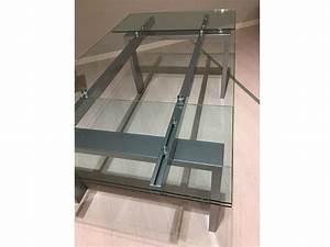 Tisch Glas Metall : glass metall ausziehbarer tisch ~ Markanthonyermac.com Haus und Dekorationen
