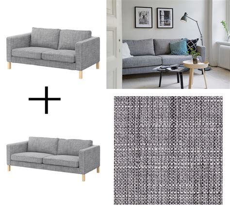 ikea karlstad sofa and loveseat slipcover cover isunda