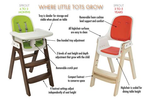Oxo Tot Sprout High Chair Replacement Straps by Oxo Tot Sprout Chair Green Walnut Babyonline