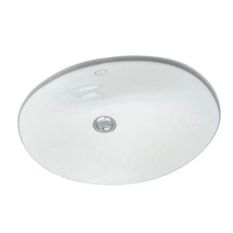 kohler caxton vitreous china bathroom sink with overflow