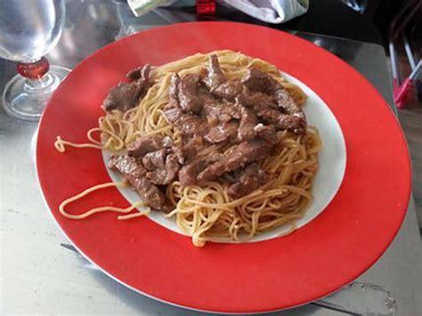 recette de bœuf marin 233 et nouilles chinoises