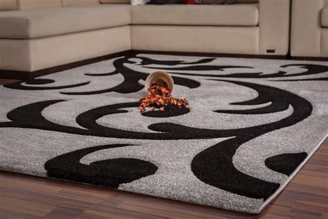 tapis gris et noir cuisine naturelle