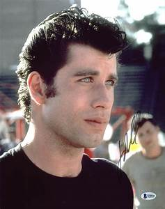 John Travolta Grease Authentic Signed 11X14 Photo ...