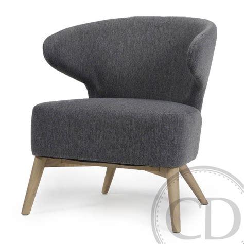 fauteuil crapaud gris anthracite rock sur cdc design