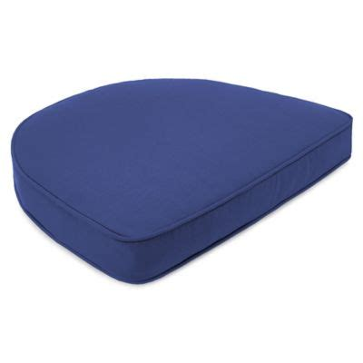 buy 18 inch x 20 1 2 inch trapezoid chair cushion in sunbrella 174 canvas maize from bed bath beyond