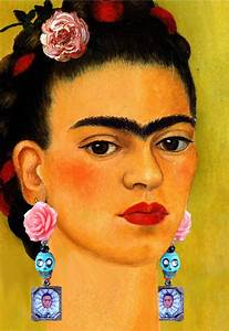 Frida Kahlo Kunstwerk : 1000 images about frida kahlo on pinterest mexico city mexican artists and portrait ~ Markanthonyermac.com Haus und Dekorationen