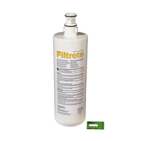 Filtrete Sink Standard Replacement Water Filter by Filtrete Standard Sink Water Filtration Filter 3us