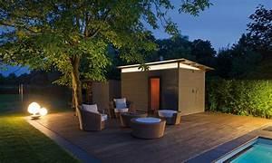 Sauna Im Garten : viel platz zum schwimmen pool magazin ~ Markanthonyermac.com Haus und Dekorationen