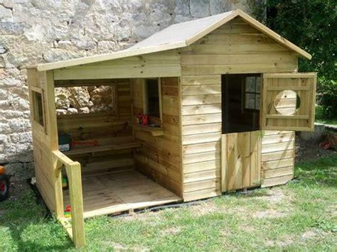 comment construire une cabane en bois dans jardin investissement immobilier