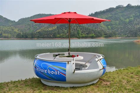 Round Electric Boat by Pe Structure Leisure Boat Round Electric Water Bbq Donut