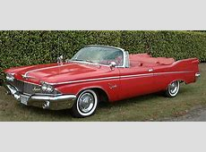1960 Chrysler Imperial Red Crown Convertible
