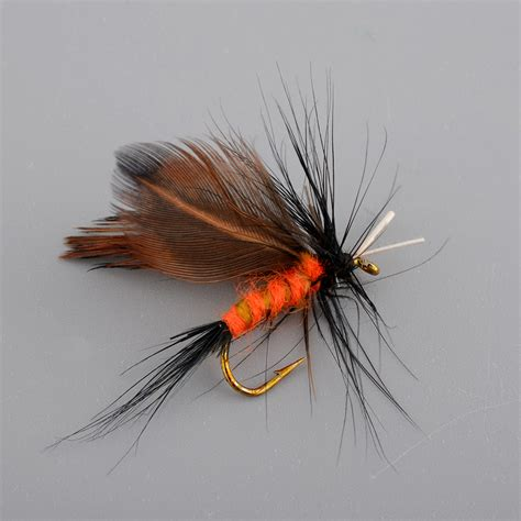 12x Lots Sports Fishing Flies Dry Fly Tackle Lures Bait