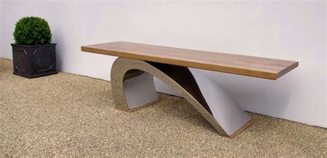 Modern Garden Bench  Luxury Designer Garden Furniture