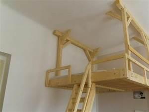 Bett Selber Bauen Holz : kinderhochbett selbst gebaut google suche home pinterest hochbett hochbett bauen und ~ Markanthonyermac.com Haus und Dekorationen