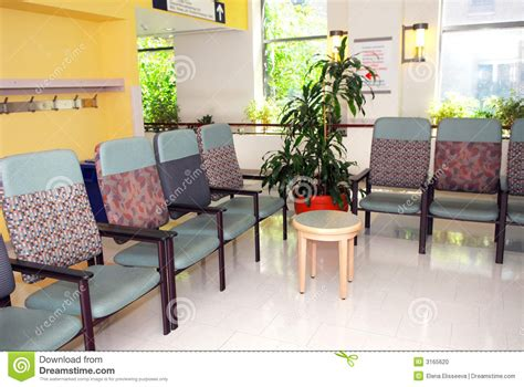 salle d attente d h 244 pital photo stock image 3165620
