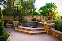 lovely pictures of small patio design ideas Elegant Backyard Hot Tub Designs | Home Design
