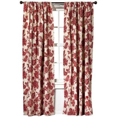 living room curtains target target home farrah floral window panel might look in