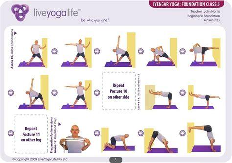 iyengar foundation complete set classes 1 to 7 poses de we et